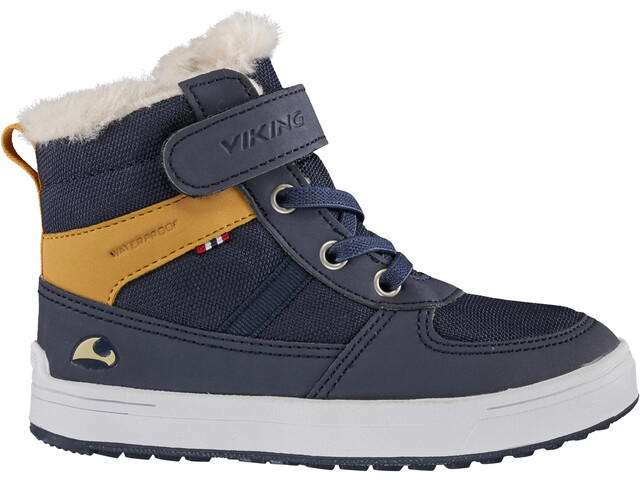 Viking Footwear Lukas WP Chaussures Enfant, navy/honey